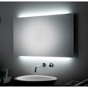 Specchiera bagno 2 luci ambiente led h2o store italia - Specchio con luce per bagno ...